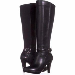 Black Alfani Boots 7.5M Brand NEW-Still in Box